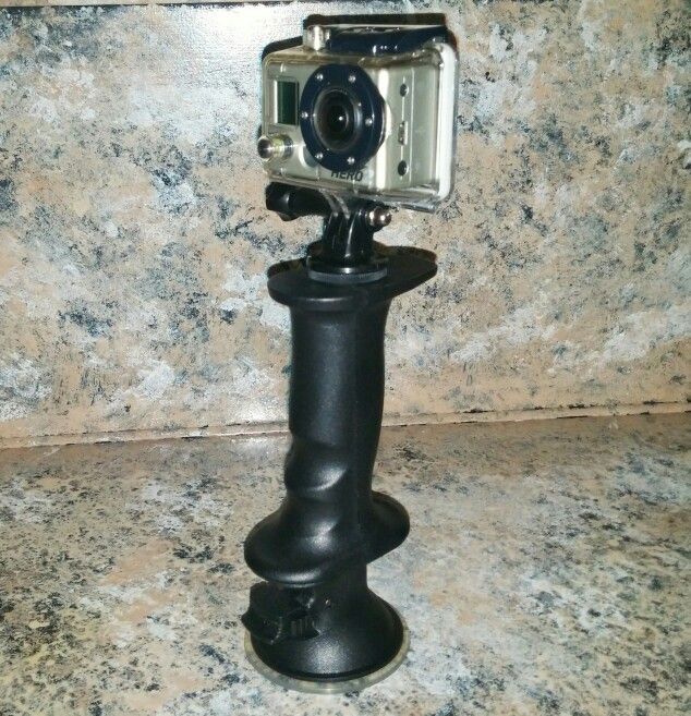 The #Gerp #grip does it all! Use as a stand, a grip, and suction mount! #Gerpology #Gopro #cool