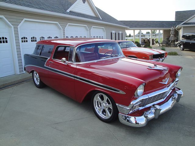 1956 Chevy Nomad Chevy Nomad Chevy Classic Cars Trucks