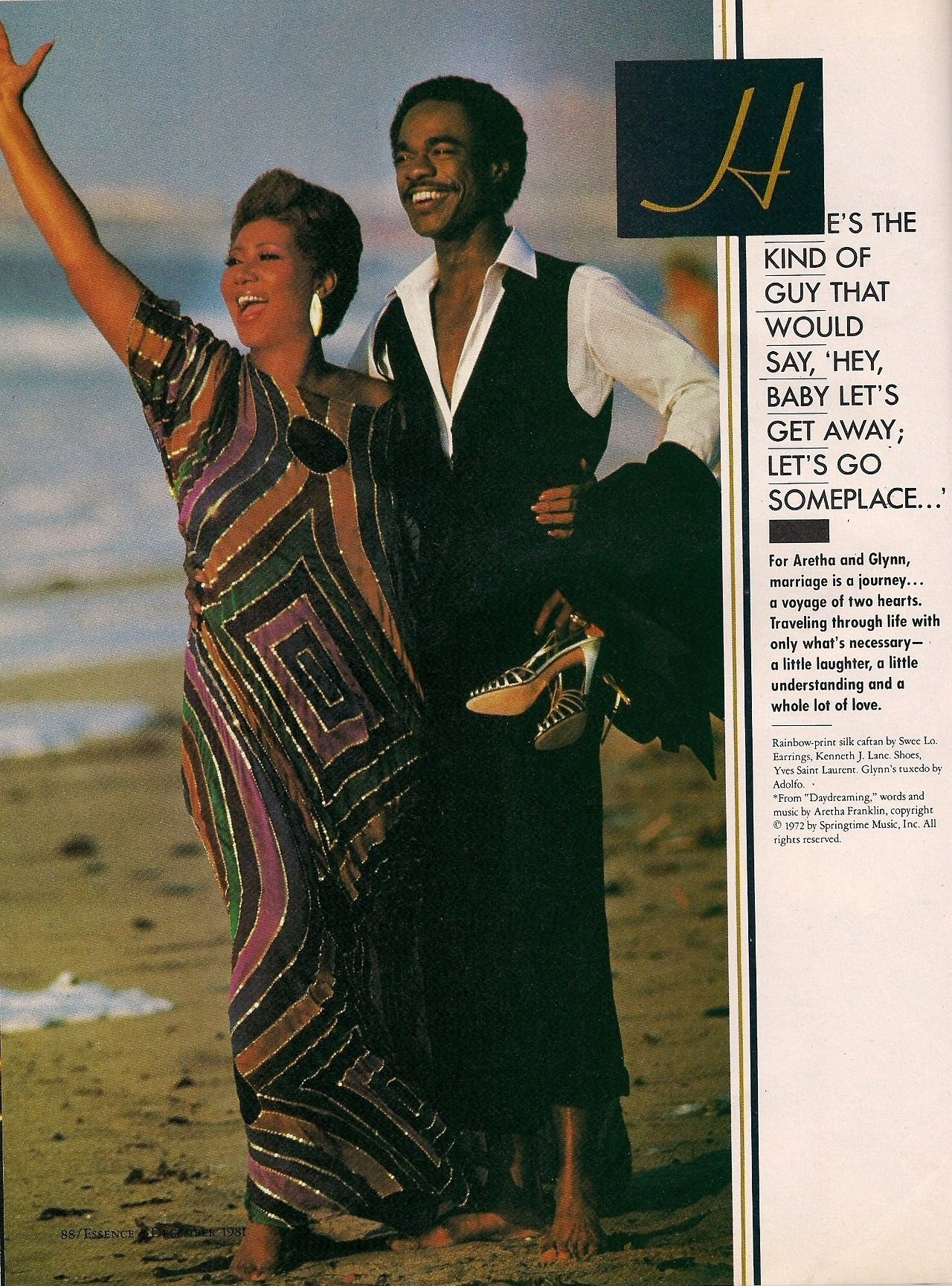 Aretha Franklin and Glynn Turman Aretha franklin, Movie