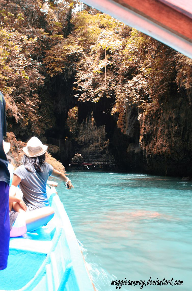 Exploring The Green Canyon [with clear blue water], Pangandaran | West Java - Indonesia    By: Galuh Sitompul