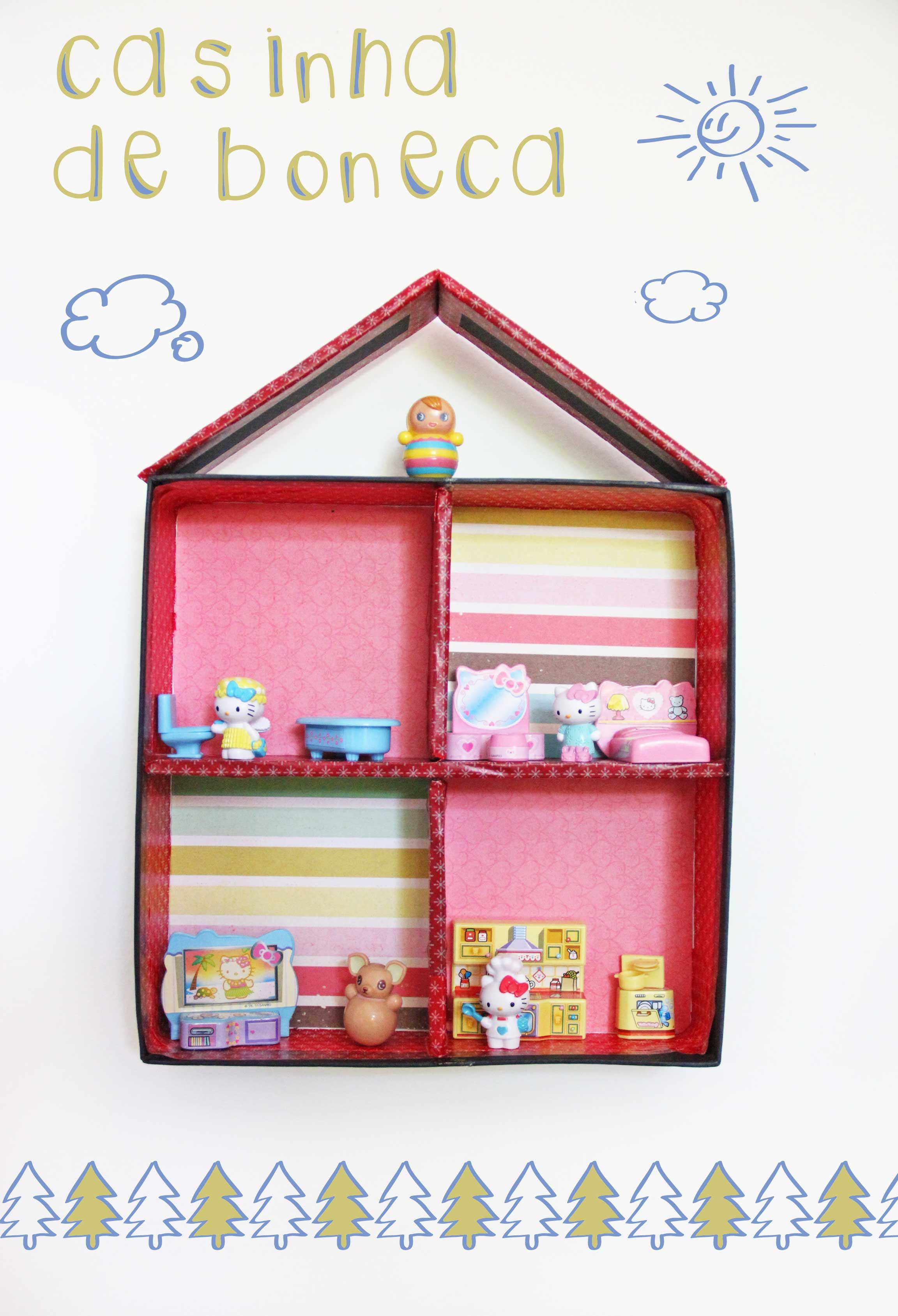 dolls house made with cardboard box welcome to the dollhouse rh pinterest ca
