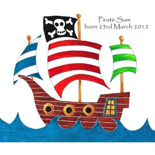 Pirate Ship Image To Use As Inspiration And To Paint Homemade Cardboard Pirate Ship Pirate Pictures Personalized Canvas Art Pirate Ship