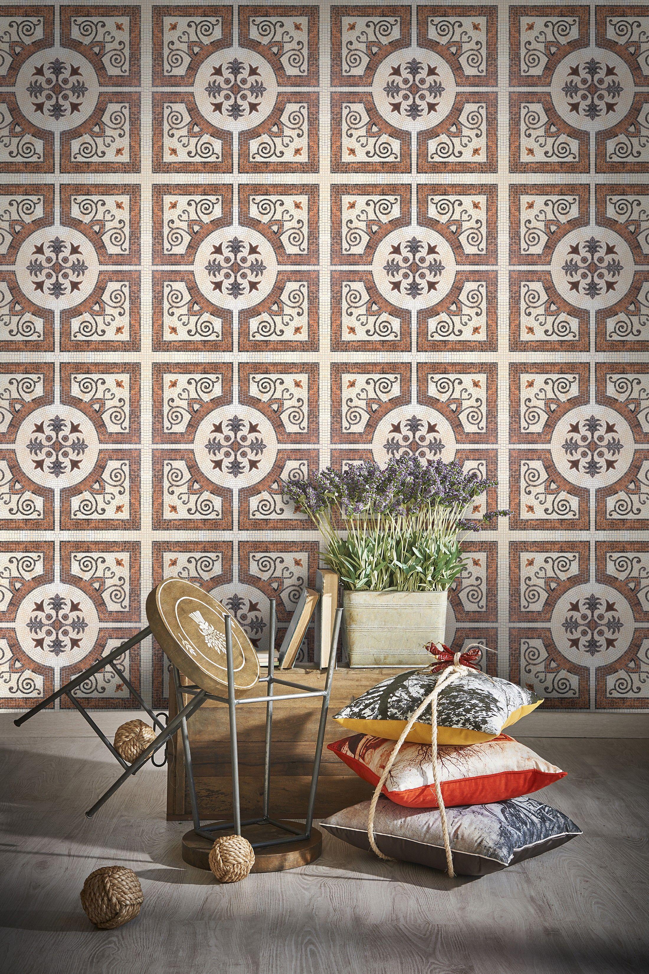 Byzantine Tile Decorative tile designs, Tile wallpaper