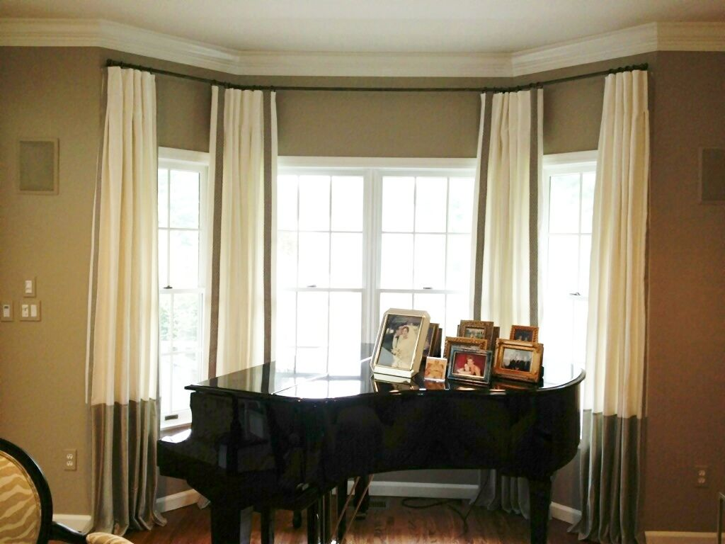 Trends Color Block Curtains