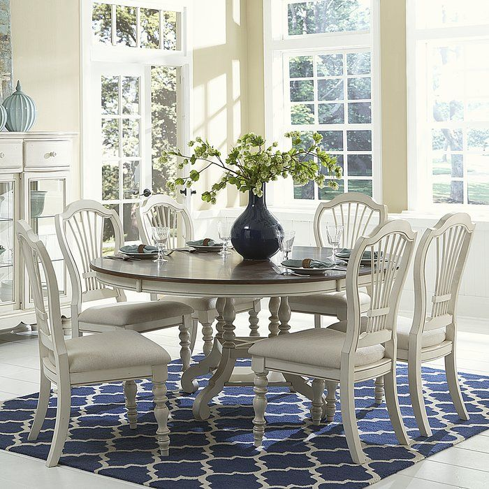 alise 7 piece dining set in 2019 dining room table chairs rh pinterest com