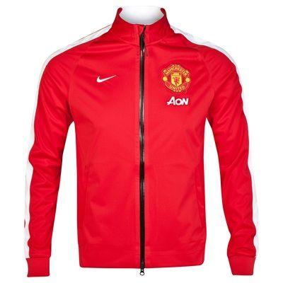 798f9c721 manutd N98 Anthem Jacket - Red | Manchester United | Manchester ...