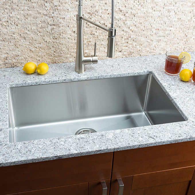18++ Hahn chef series handmade large single bowl farmhouse sink most popular