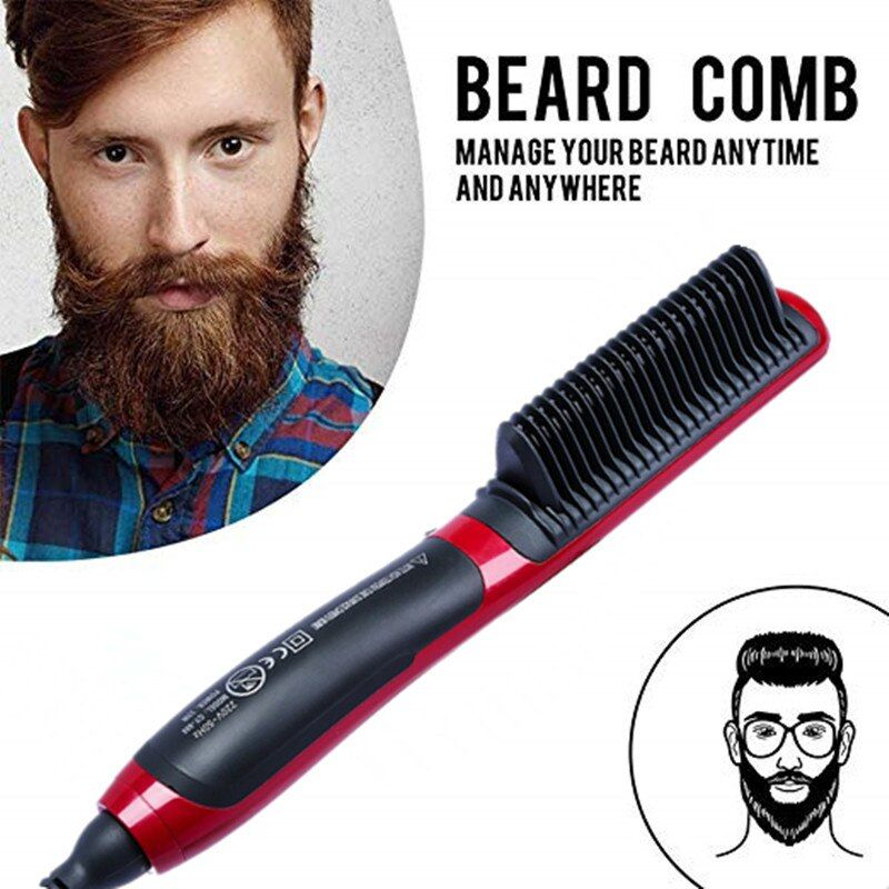 Professional Beard Hair Straightener Hairdressing Comb