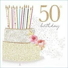 Happy 50th Birthday Wishes Messages 50 Quotes Cards