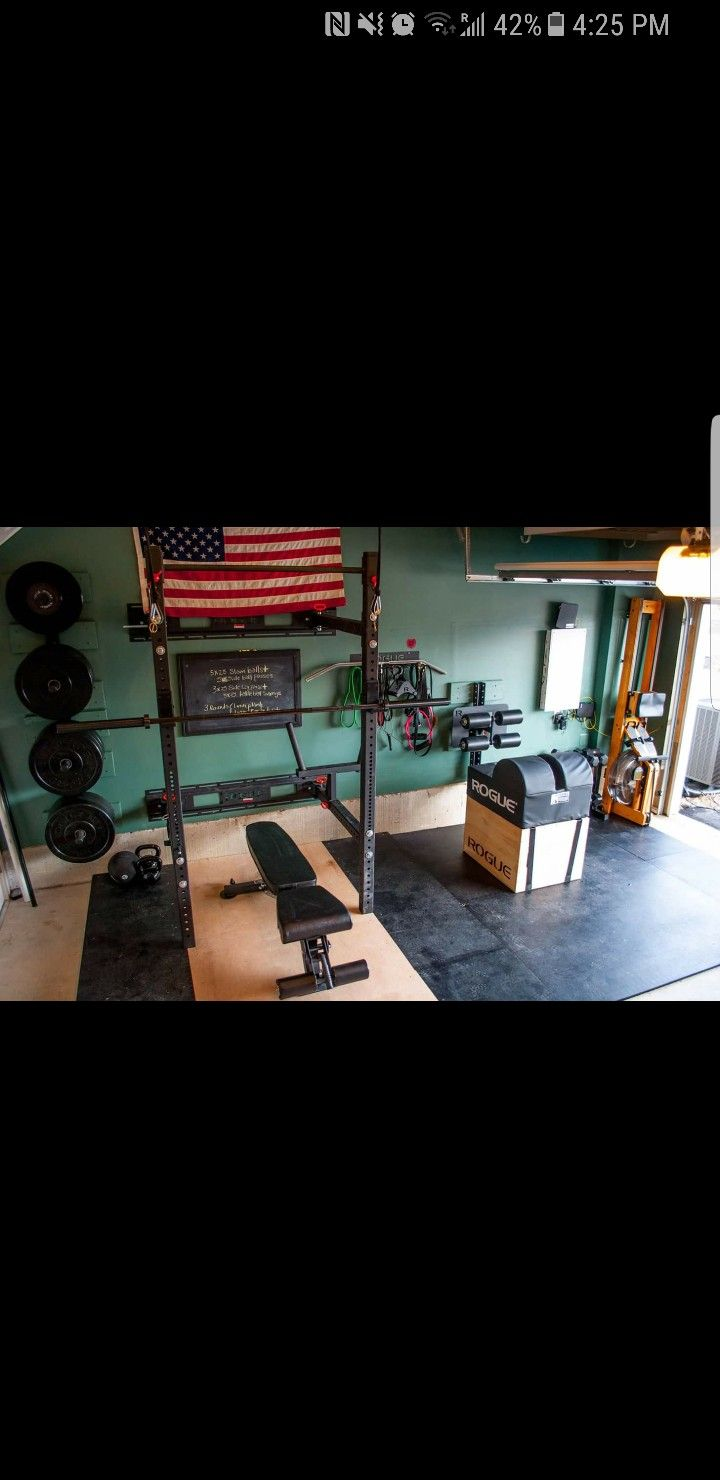 Pin by Brian Olene on Home Gym