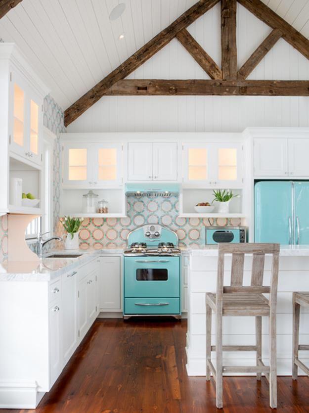 Best 23 Beach Kitchen Cabinets Design Ideas