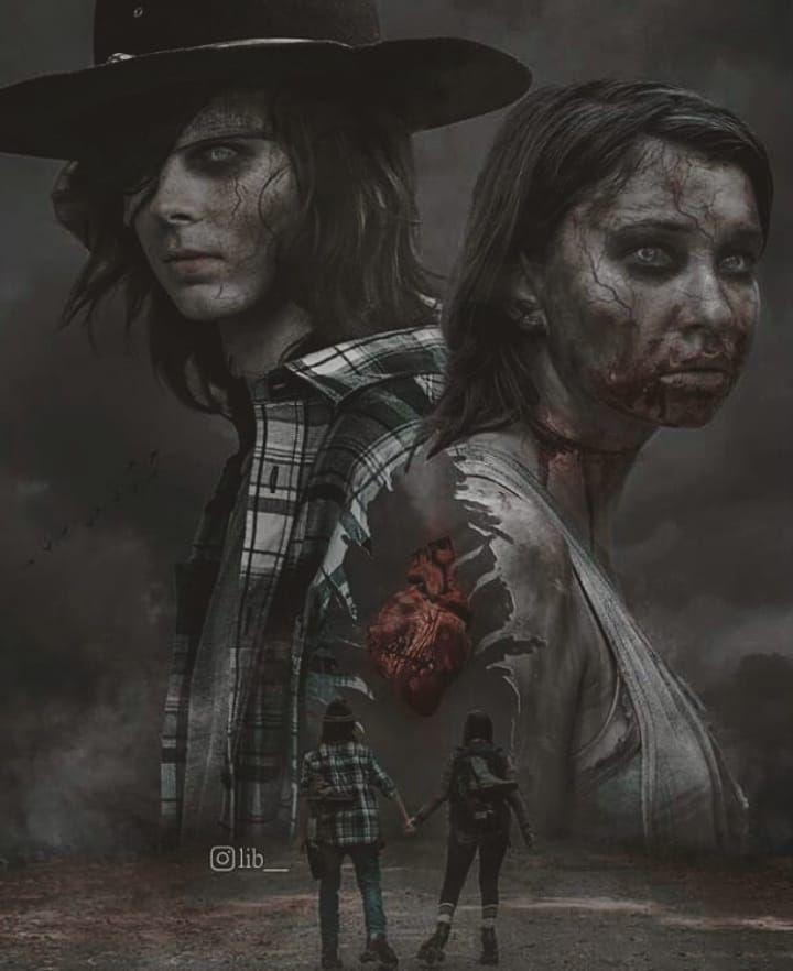 The Walking Dead Instagram