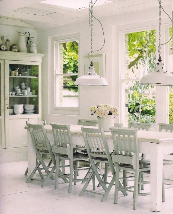 lovely dining room great way to balance the table lighting when rh pinterest com