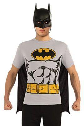 9fbf1281 DC Comics Batman T-Shirt With Cape And Mask #Batman #Superhero #Halloween  #Costume