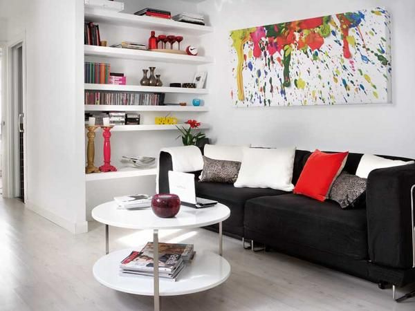 functional-black-white-red-small-apartment-1jpg (600×450) home