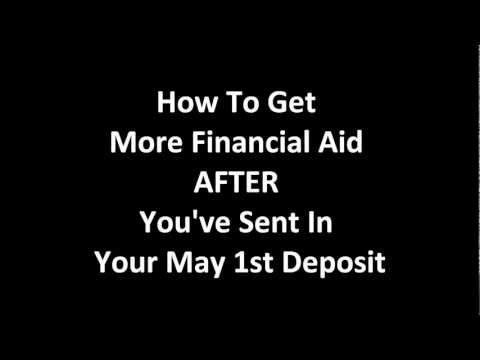 Financial Aid Appeal Letter To A College HereS A Video On Why