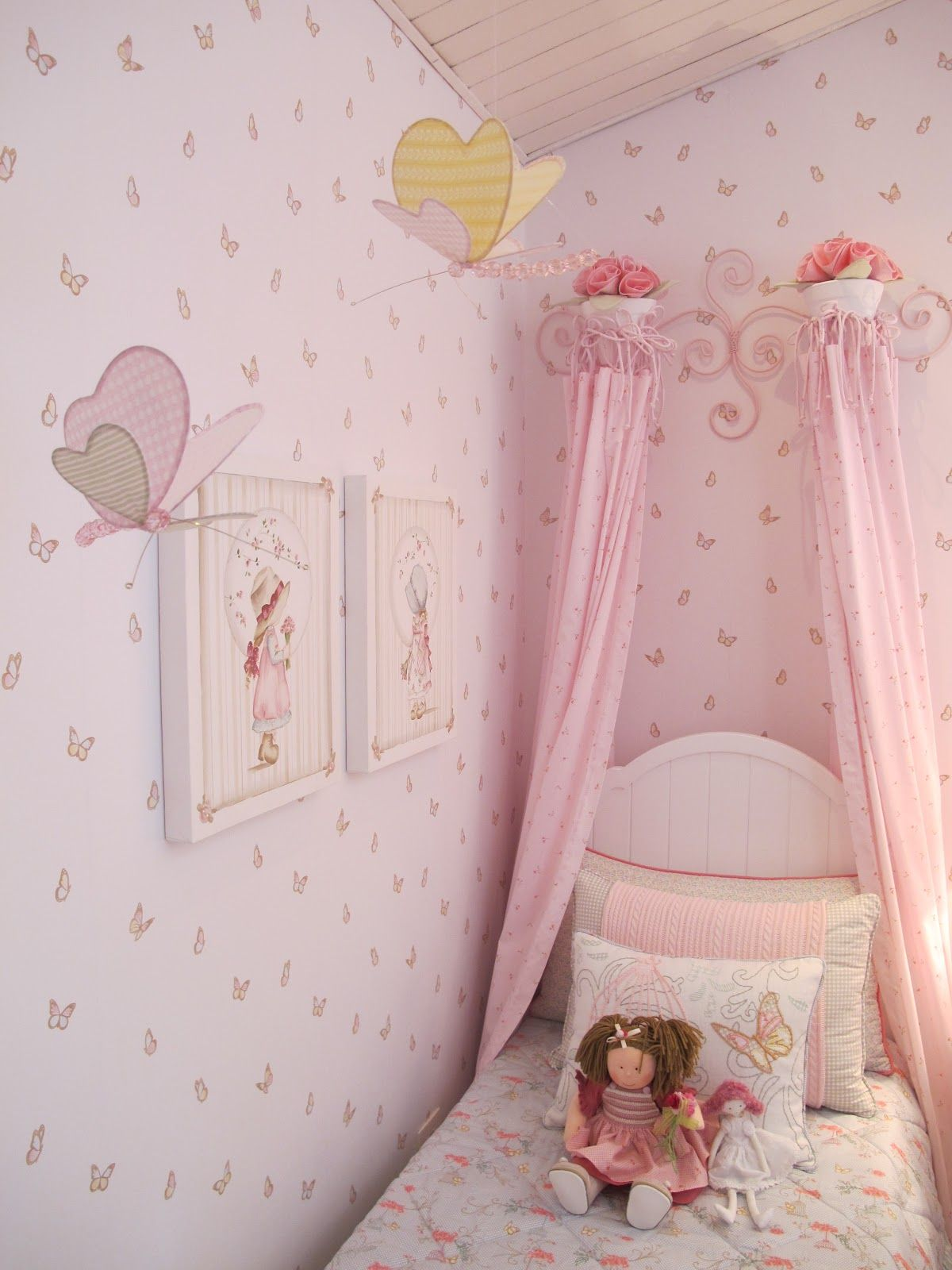 cute inspired butterfly little girls room crafts and other cool rh pinterest com