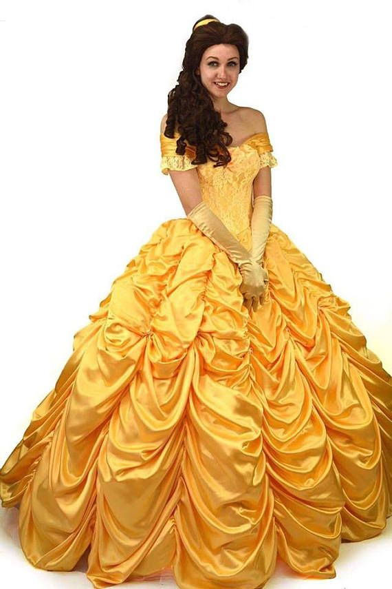 Belle Costume Princess Disney Belle dress adult | Disney: clothing ...