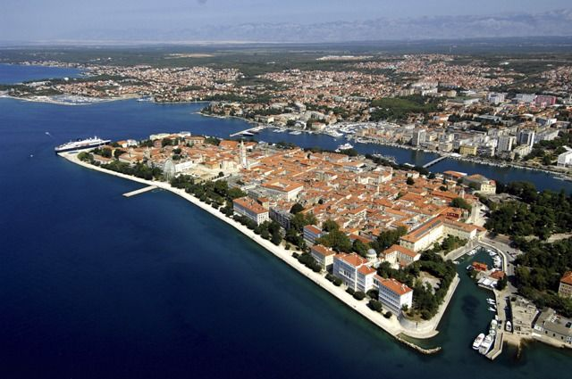 Zadar Croatia My College Roommate S Hometown On Our Drive There I Was Able To Drive Past My Grandfather S Town Udbina Croacia