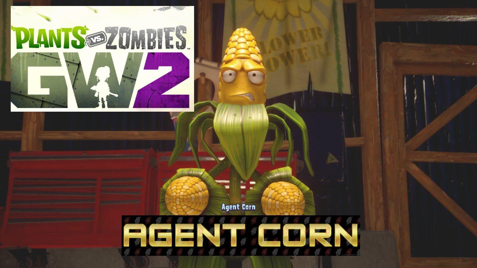 Plants vs Zombies Garden Warfare 2 Agent Corn Story Mode