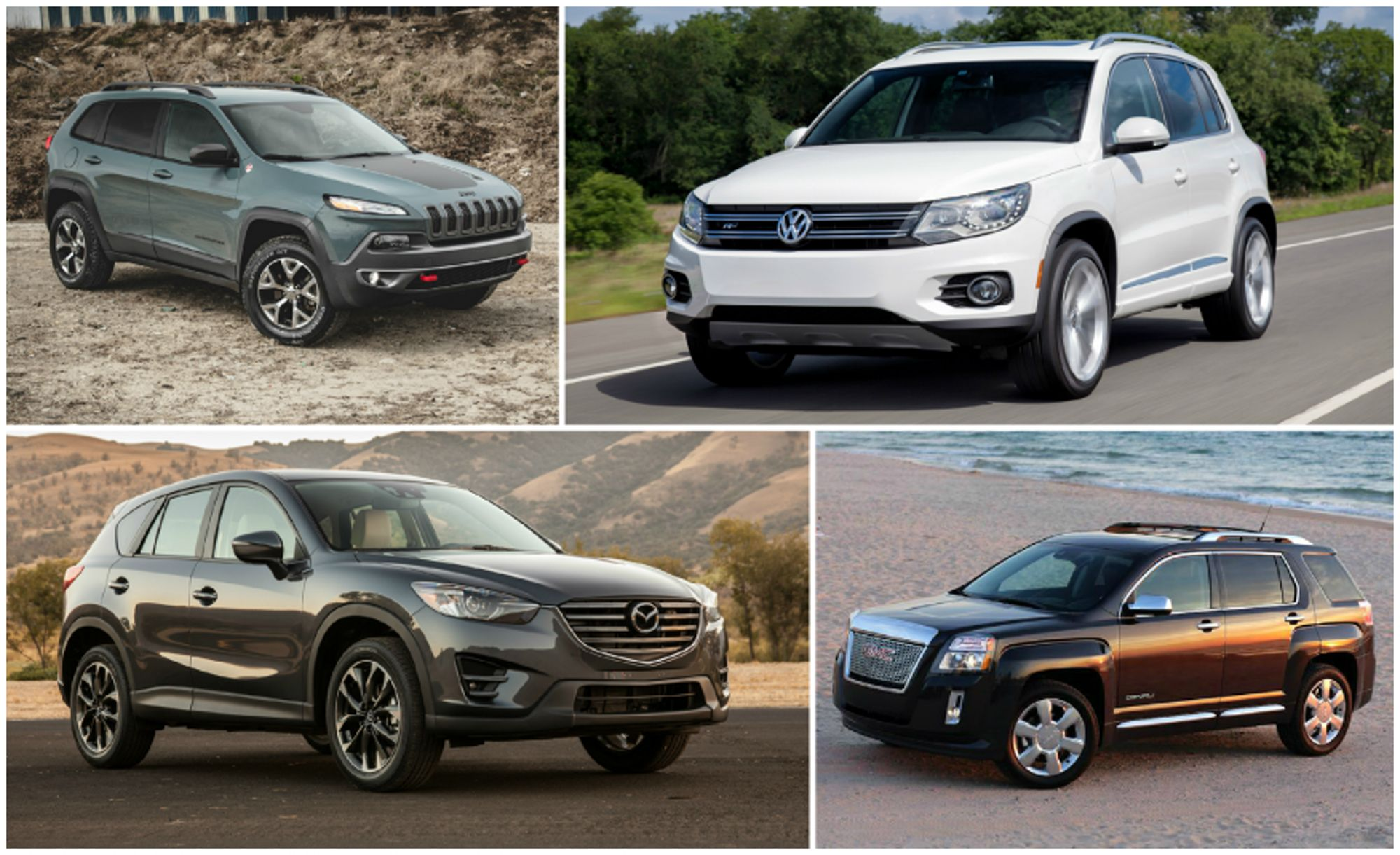 practical matters every compact crossover suv ranked from worst to rh pinterest com