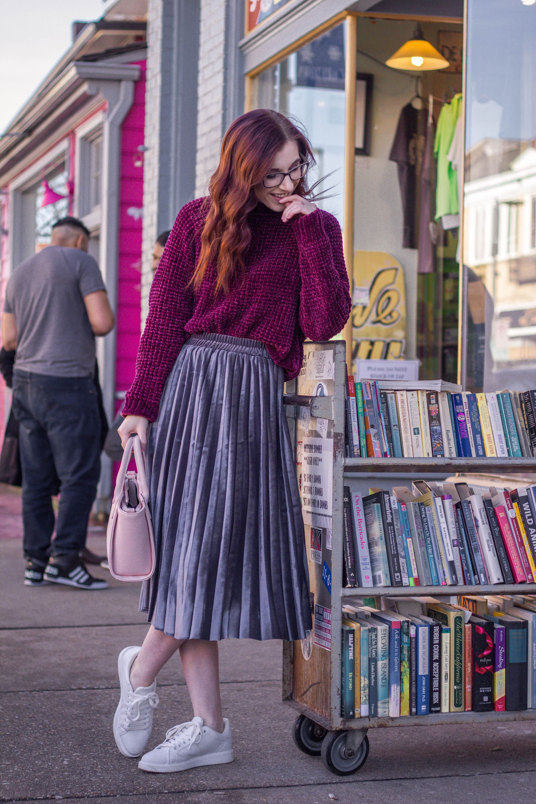 2 Stand-Out Ways to Wear a Pleated Midi Skirt This Winter ...