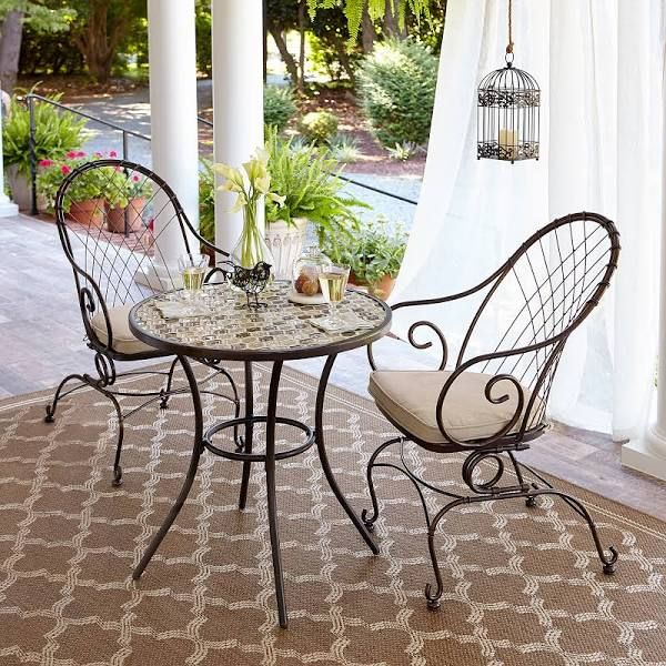 jaclyn smith spring valley bistro table limited availability bronze rh pinterest com