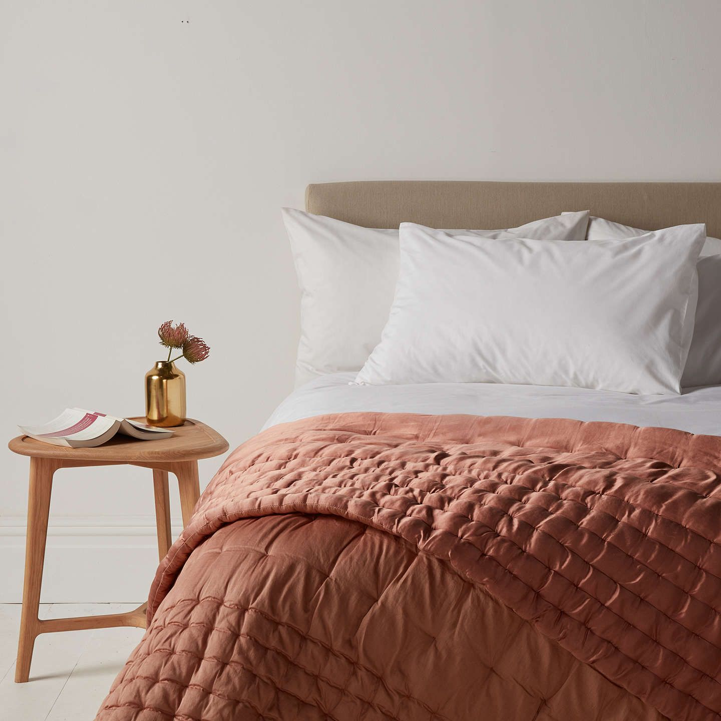 BuyJohn Lewis Boutique Hotel Silk Bedspread L260