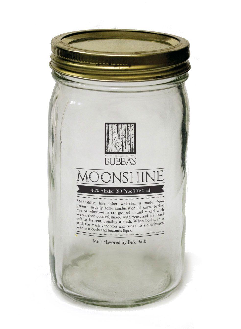 Clear Label Lt 3 Moonshine Jar Http Bachellerstudio