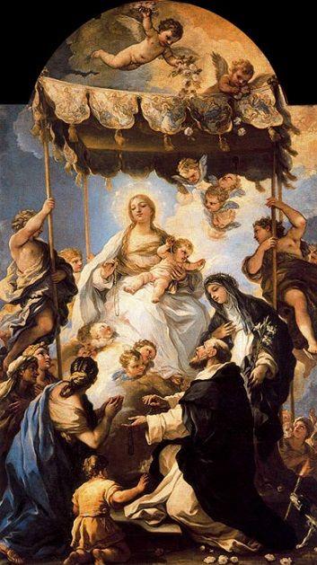 Luca Giordano: Nuestra Señora del Baldaquino, 1685. Museo Nazionale di Capodimonte.jpg.