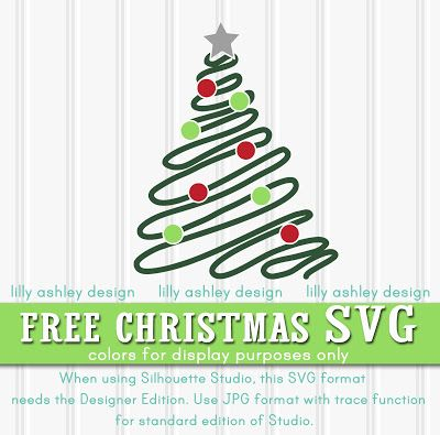 free christmas svg cut file
