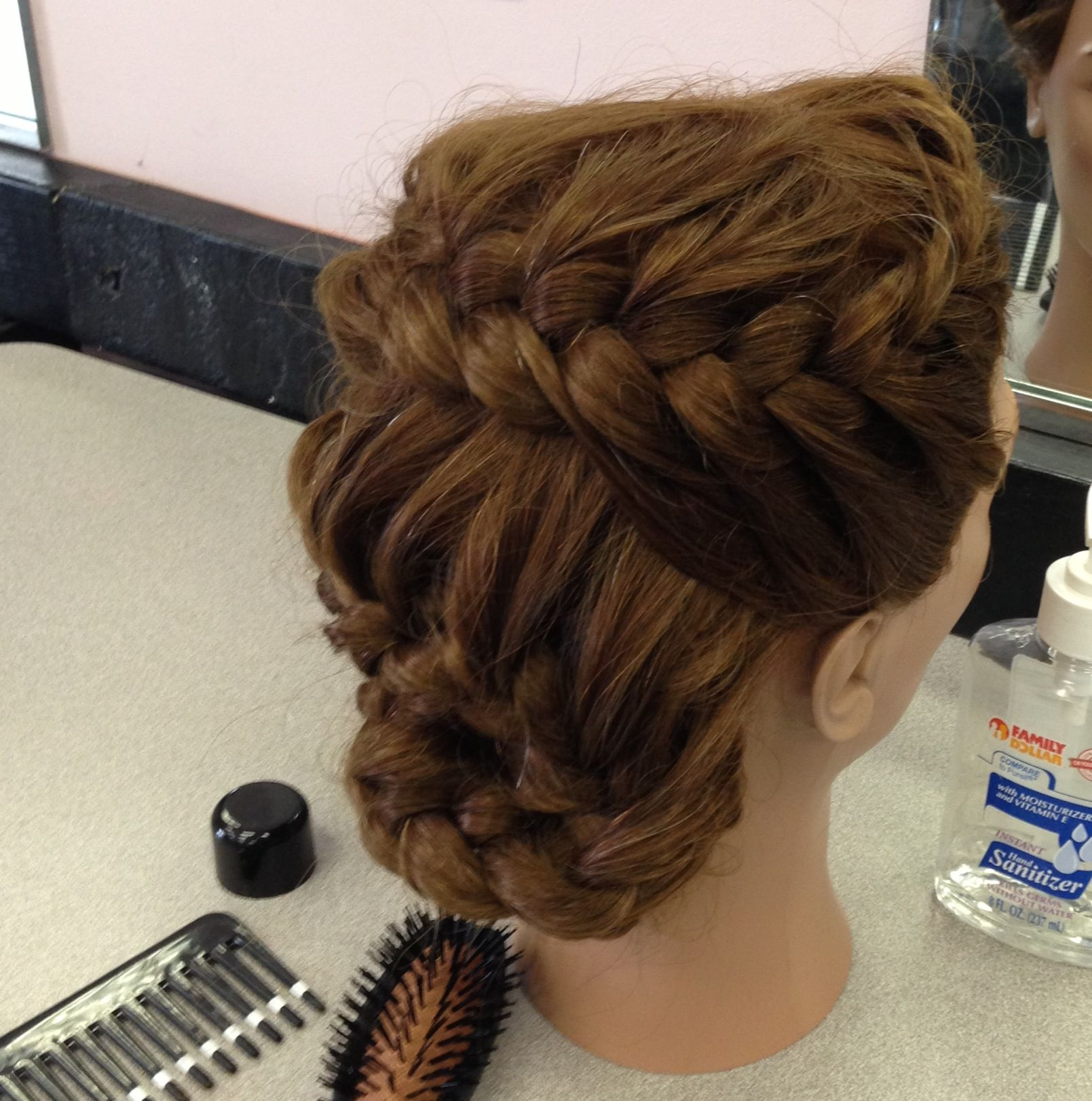 Braids peinados pinterest hair style braid hairstyles and makeup
