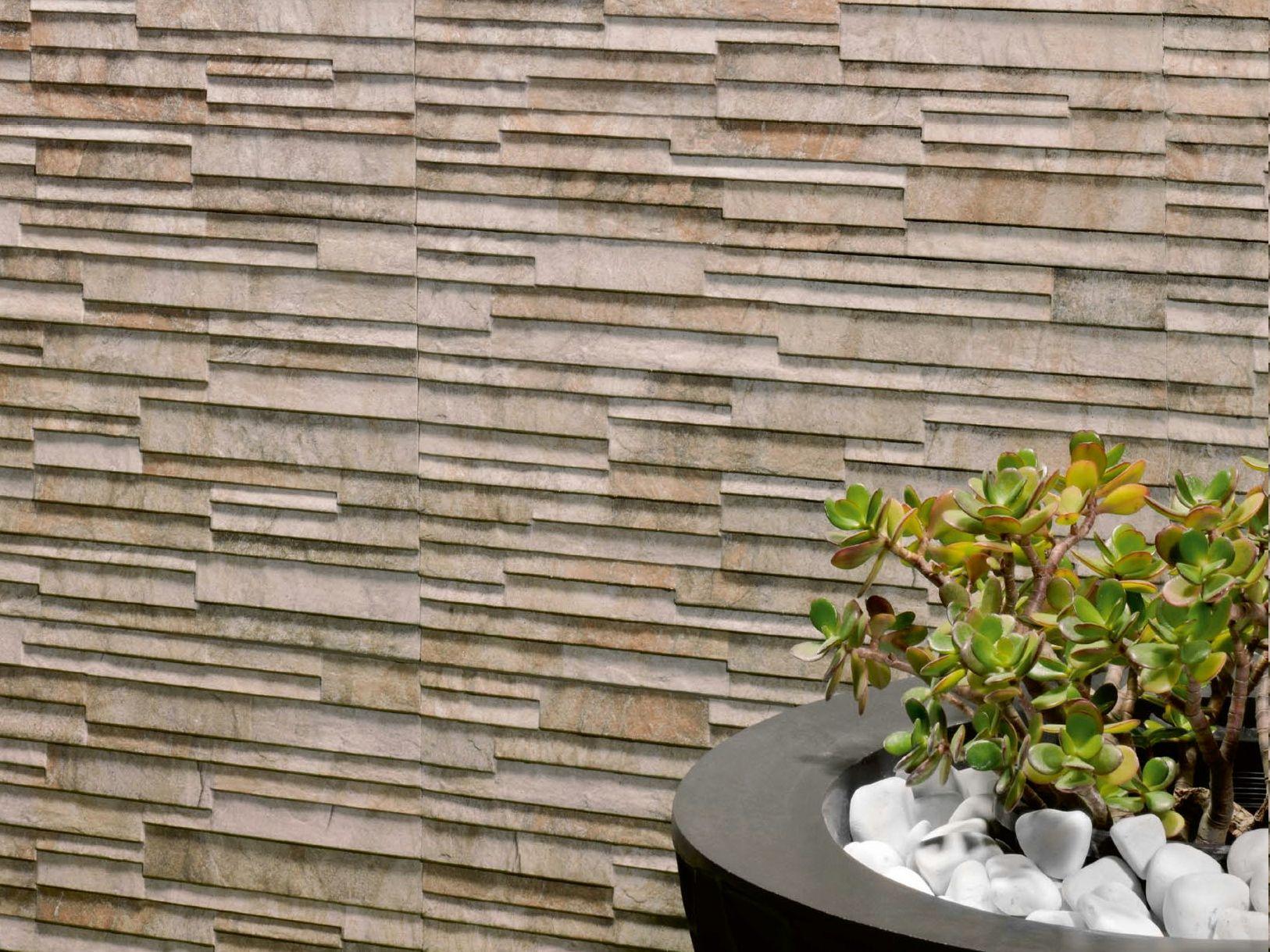 revestimiento de pared de gres porcel nico para exterior