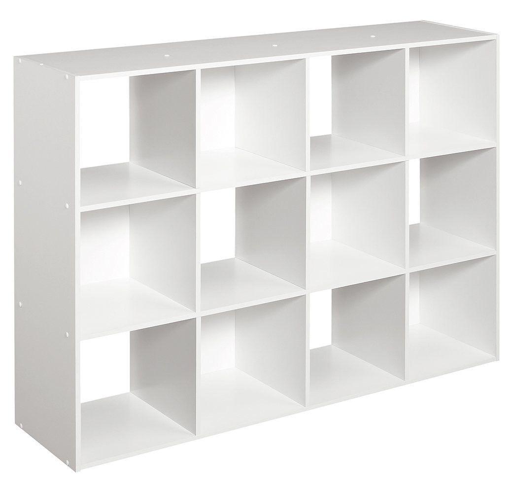 Closetmaid Cubeicals 12 Cube Organizer White Cube Organizer Cube Bookcase Cube Storage