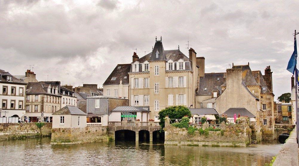Pont Habite De Landerneau Pierre Bastien Finistere Finistere