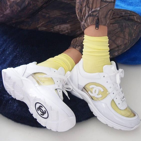 f3a7536e8934 pinterest   meredithnashh  chanelshoes  transparentshoes  hypebae   streetwear  trendyshoes
