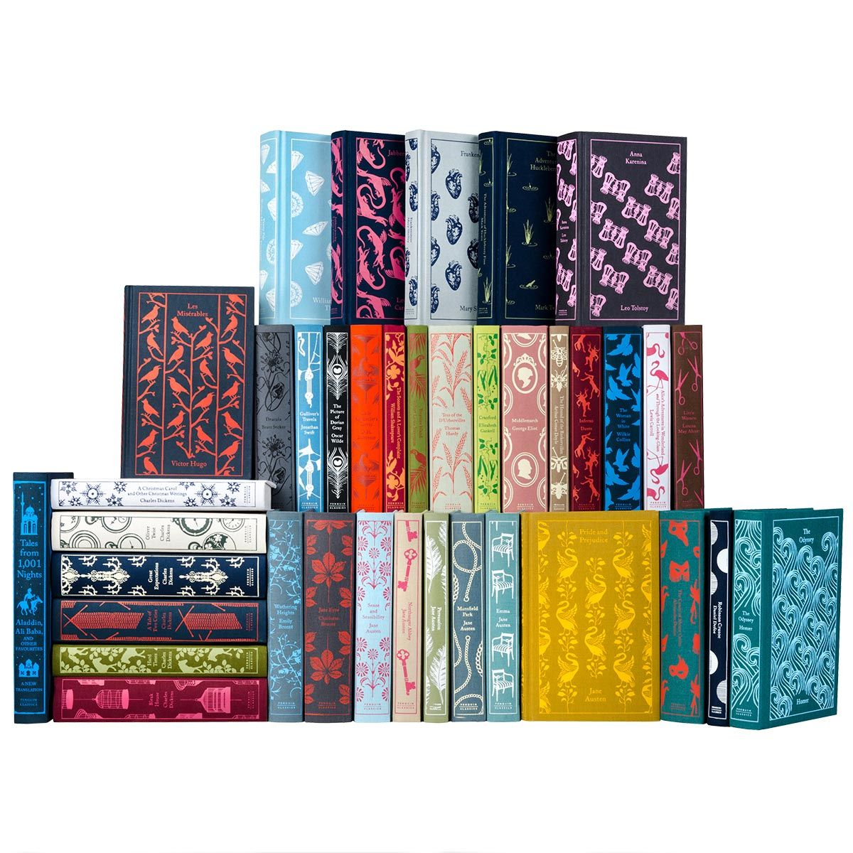 The Penguin Classics series, complete set. God, I would love these, especially if I had the right place to display them. In fact, I love everything on this site, but they're so pricey!!