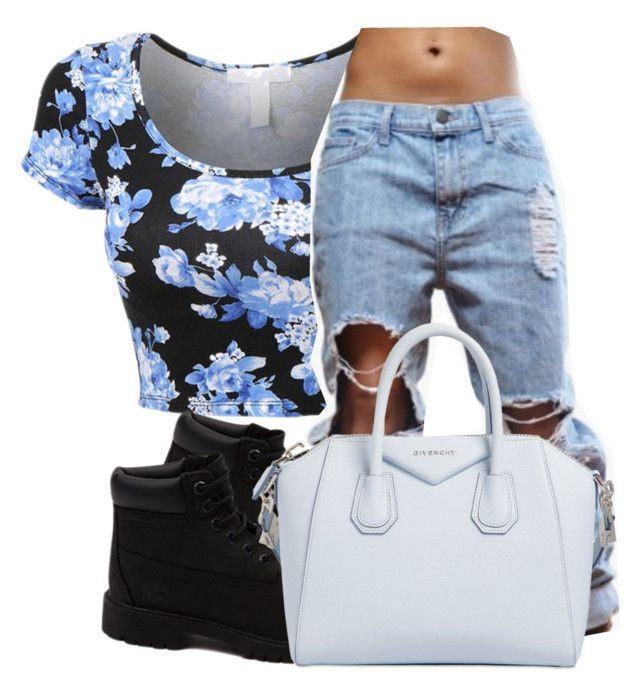 """""""Untitled #173"""" by jaziscomplex on Polyvore featuring Timberland, Givenchy, women's clothing, women's fashion, women, female, woman, misses and juniors"""
