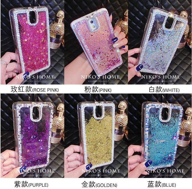 another chance 10707 1feea For Samsung Galaxy Note 4 S5 S6 Edge Crystal Bling Rhinestone ...