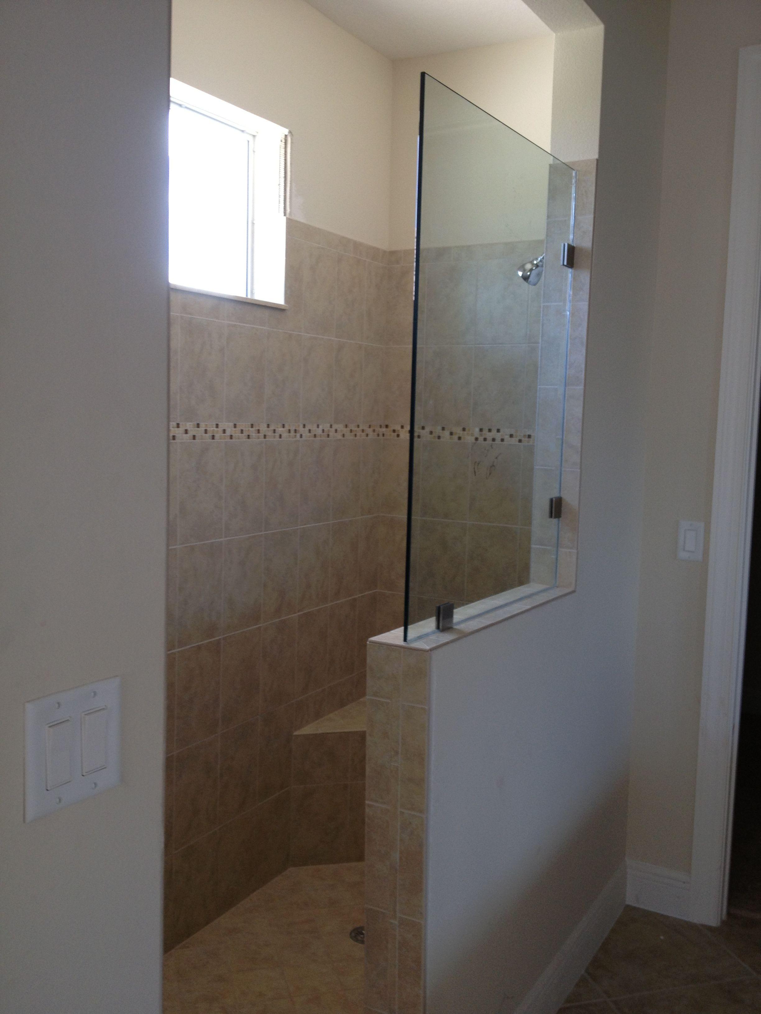 Roman shower.