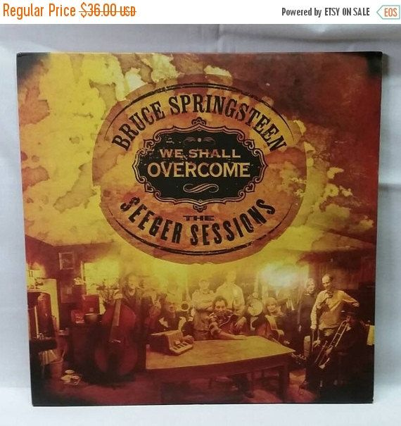 11 Off Black Friday Bruce Springsteen We Shall Overcome Rare Vinyl 2006 Pete Seeger Cover Bruce Springsteen Bruce Springsteen Albums American Folk Music