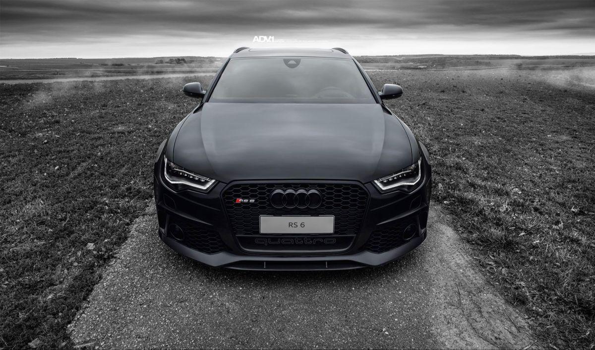 Black Audi Rs6 Wallpaper In 2021