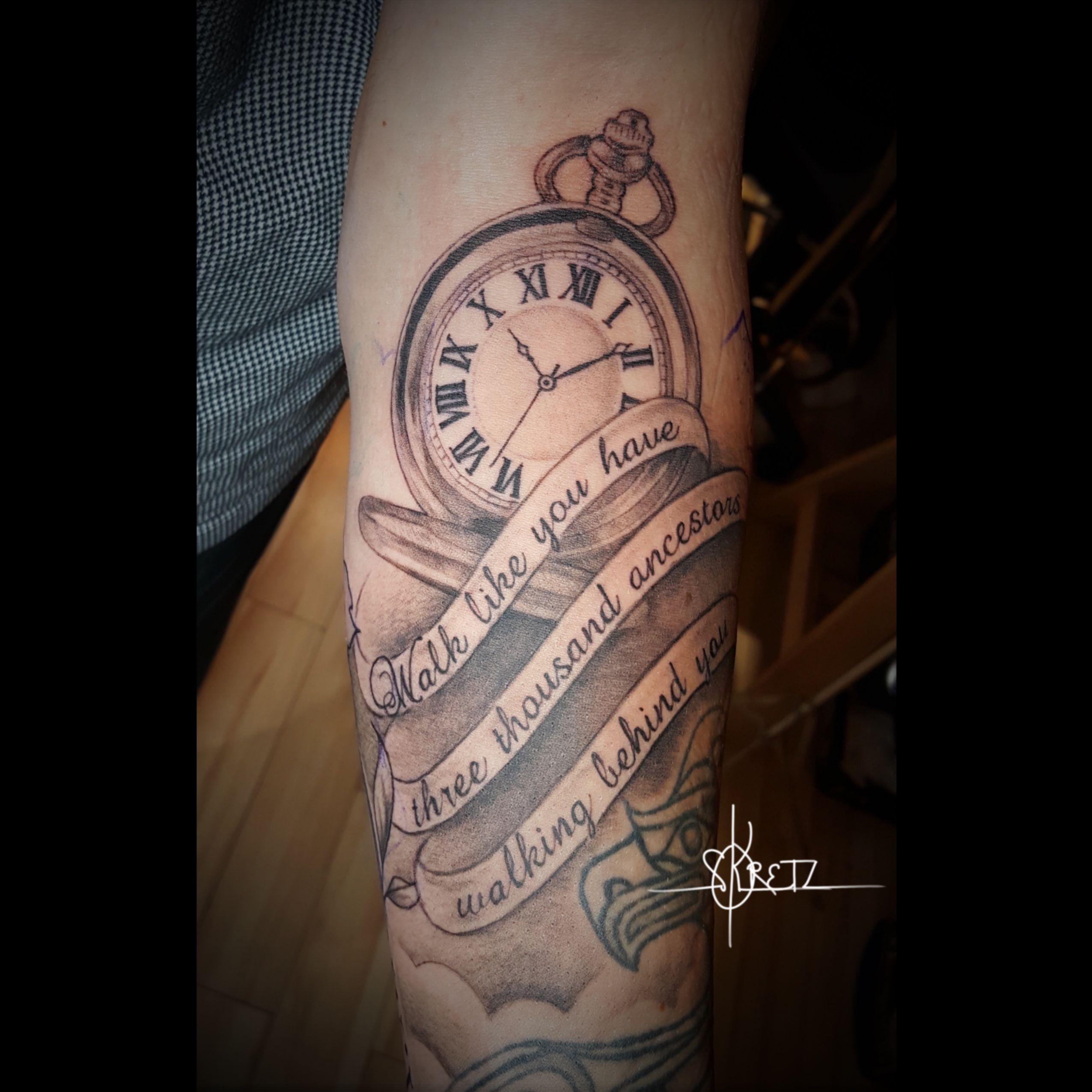 #pocketwatch #tattoos #tattooideas #bctattoo #whistlertattoo #vancouvertattoo   #whistlerbc  #realistictattoo #realisticink #blackandgreytattoo #blackandgrey #blackandgraytattoo