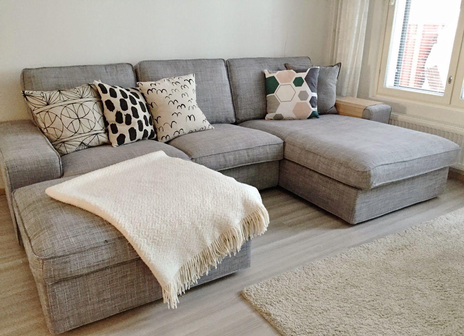 small sectional living room furniture bed bath and beyond curtains for esittelyssa sohva ikea kivik something a p r t m e n