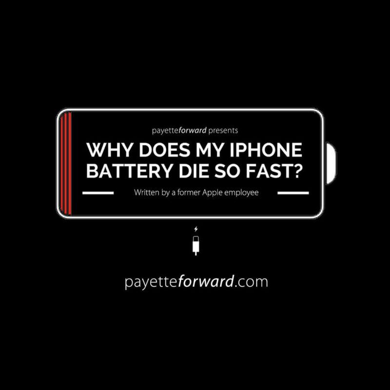 super popular 4b5e9 a1832 Why Does My iPhone Battery Die So Fast? Here's The Real Fix! | FWIW ...