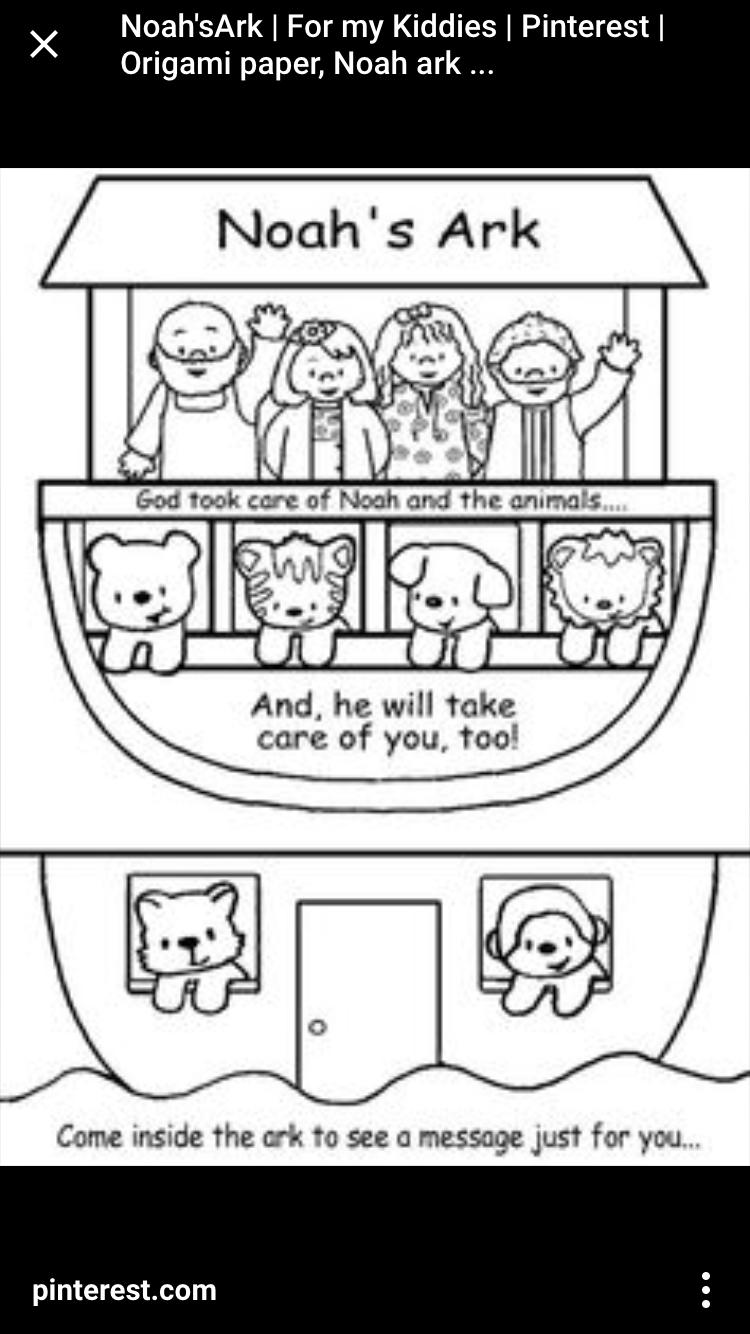 Moderno Noahs Ark Para Colorear Imprimible Regalo - Ideas Creativas ...
