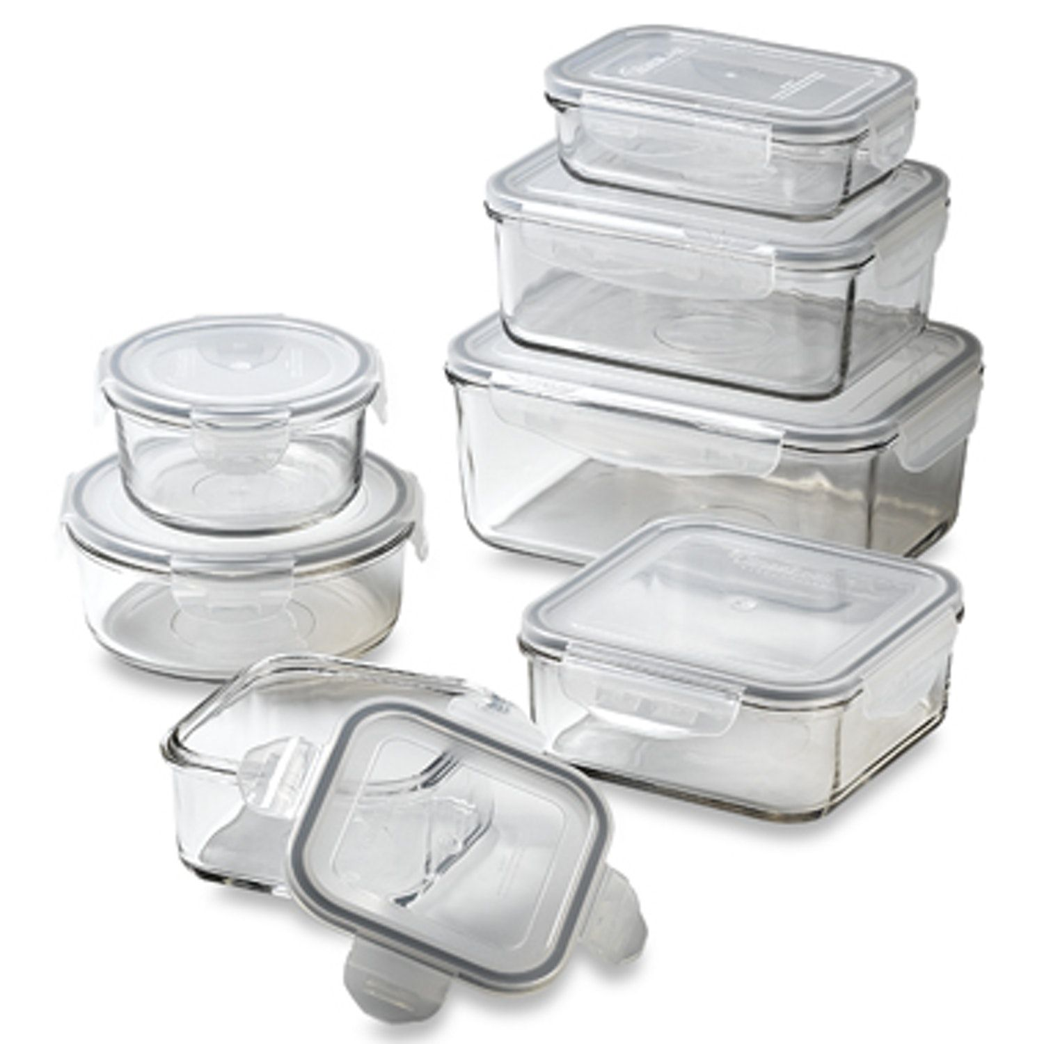 Good Product Snapware Glass Lock Containers Glass Storage