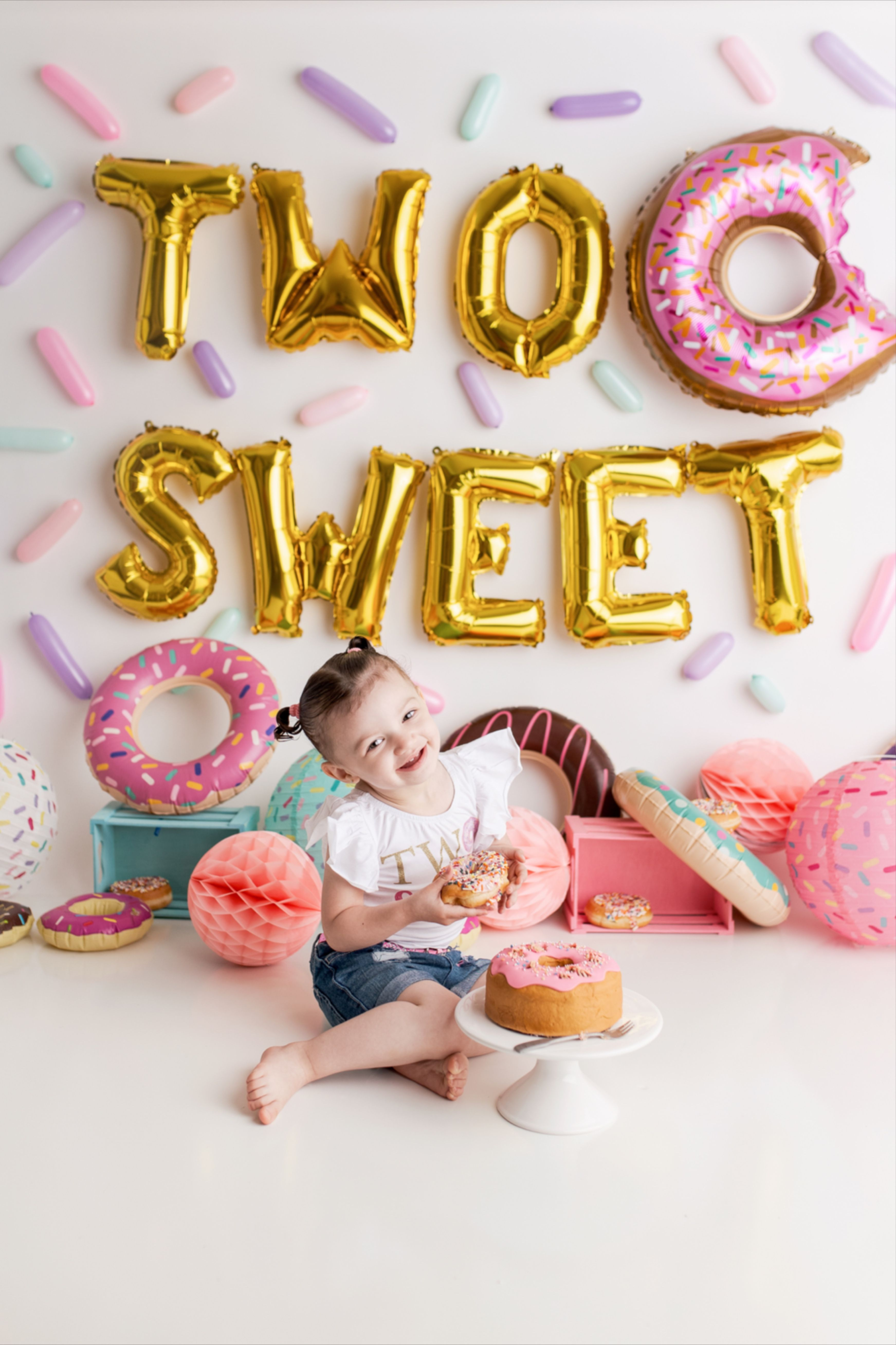 Two Sweet 2nd Birthday Photoshoot With Jaemie Hillbish Photography 2nd Birthday Photos Second Birthday Photos Girl 2nd Birthday