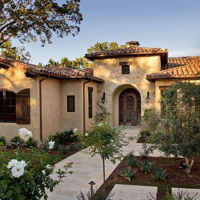 mediterranean home mansard roof design pictures remodel decor and rh pinterest es