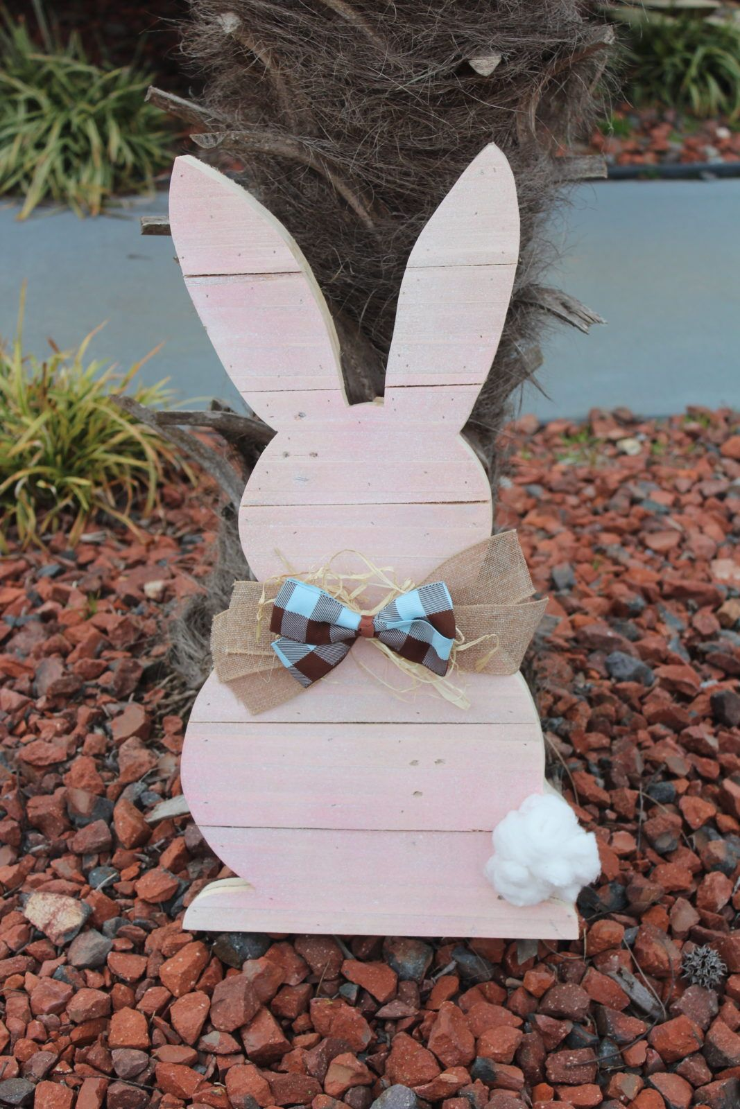 Easter Decorations Wood Bunny Outdoor Easter Bunny Easter Decor Porch Decor Easter Wooden Bunny Easter Decor Easter Bunny Pappys Traditions Wooden Easter Decorations Diy Outdoor Decor Diy Easter Decorations